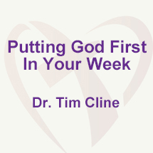 Putting God First In Your Week